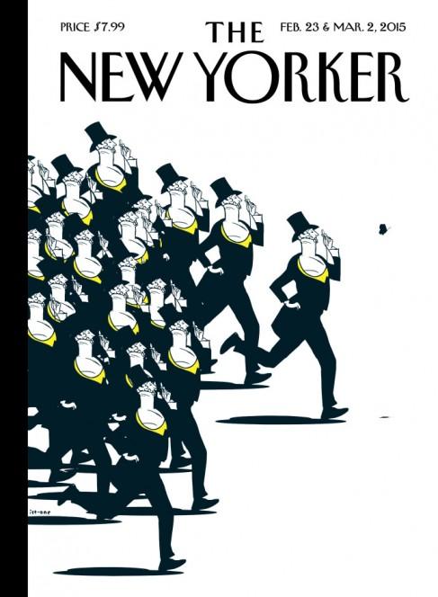 The New Yorker, 23 February 2015: Istvan Banyai
