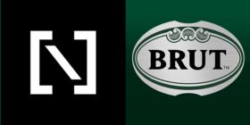 The Niche Guys logo and Brut logo