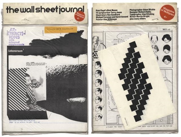 The Wall Sheet Journal, issue 4, 1969