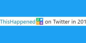 #ThisHappened on Twitter in 2018 slider