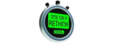Time For A Rethink Meaning Change Strategy by Stuart Miles courtesy of FreeDigitalPhotos.net amended for slider