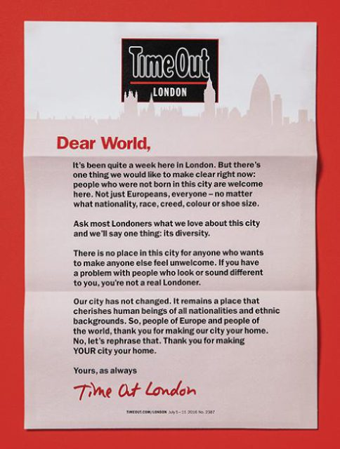 Time Out London, 5 July 2016