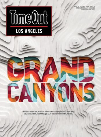 Time Out Los Angeles, 5 April-11 July 2018