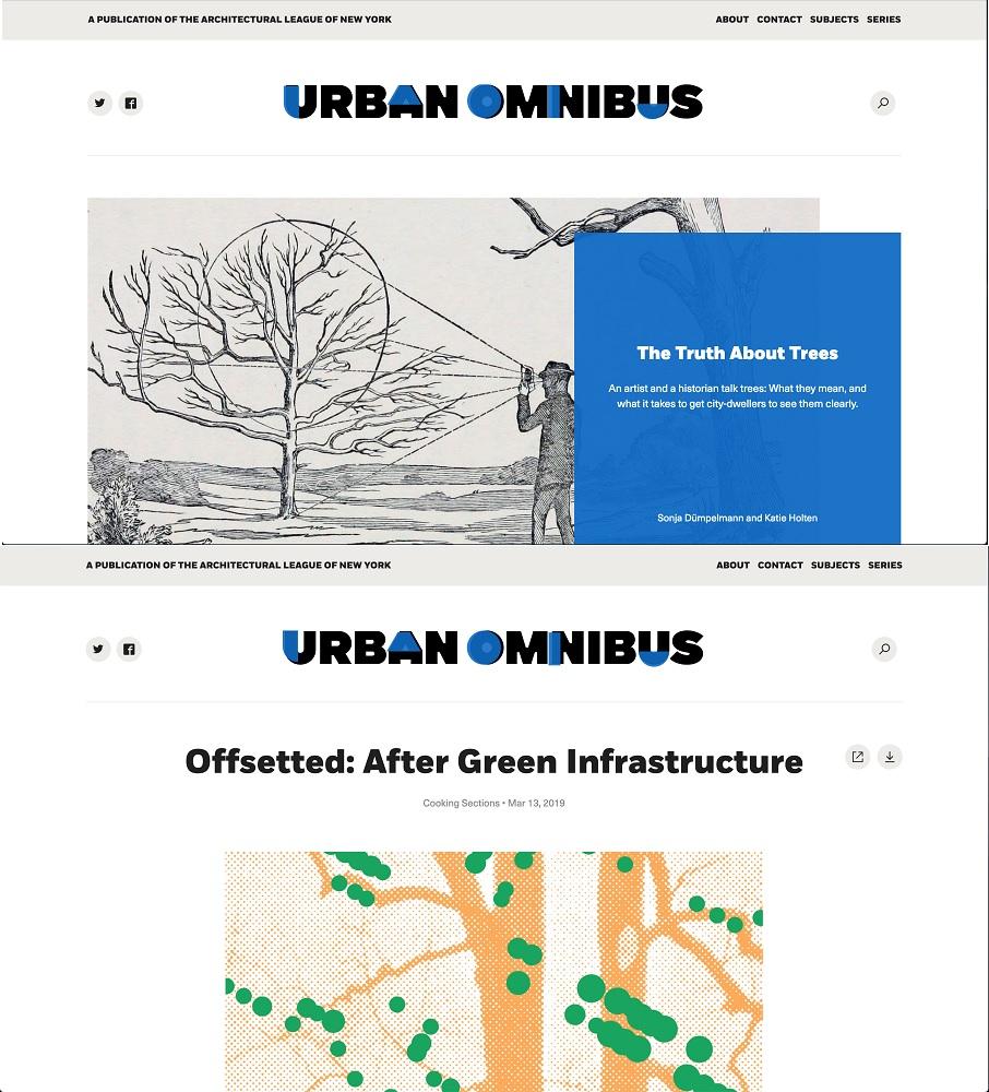 Urban Omnibus, online, March 2019