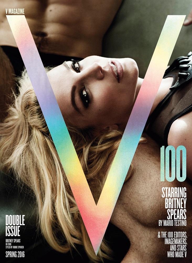 V, Spring 2016: Britney Spears