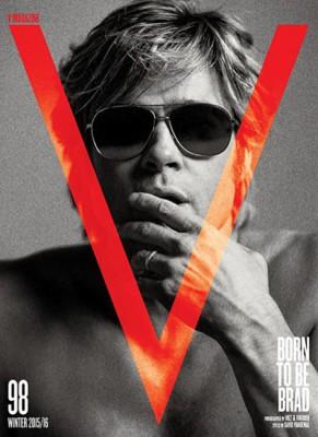V, Winter 2015/2016: Brad Pitt 2