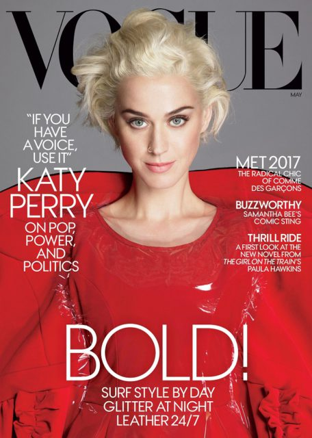 VOGUE, May 2017: Katy Perry