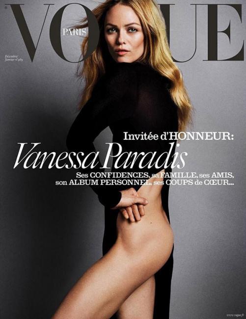 VOGUE (Paris), December/January 2016: Vanessa Paradis
