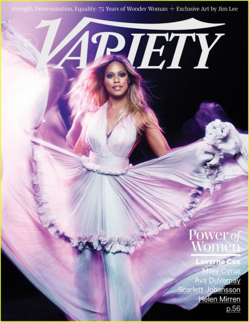 Variety, October 2016: Laverne Cox