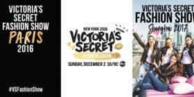 Victoria's Secret Fashion Show 2016, 2017 and 2018