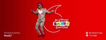 Vodacom #ShakeEveryDay