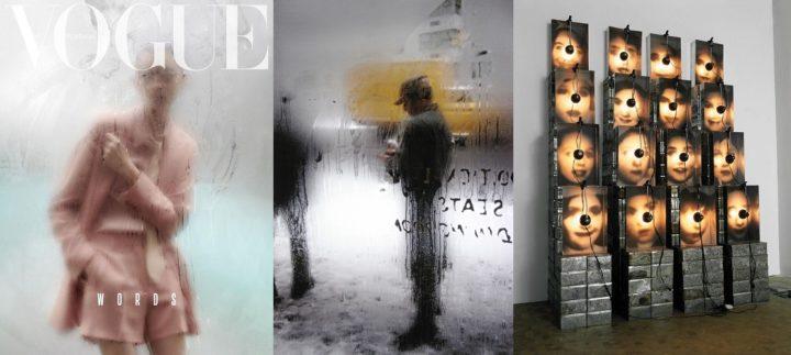 Vogue Portugal April 2018, Saul Leiter 1960 and Christrian Boltanski 1990