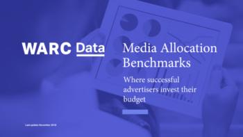WARC media allocation report sample