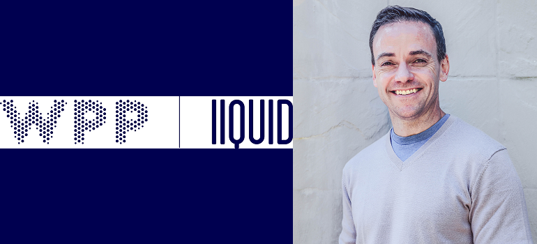 WPP Liquid logo and Mike Middleton