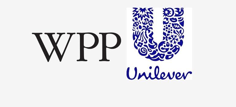 WPP logo and Unilever logo