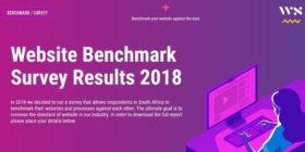 Website Benchmark Survey Results 2018