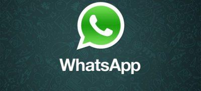 WhatsApp logo slider