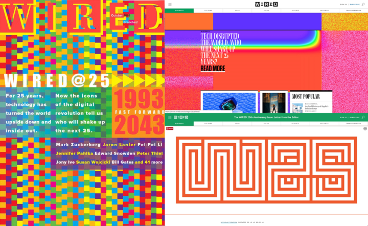 Wired, 25th Anniversary issue print and online, September 2018