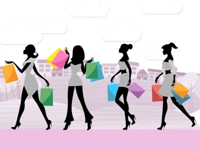 Women Shopping Shows Commercial Activity and Adult by Stuart Miles at FreeDigitalPhotos.net
