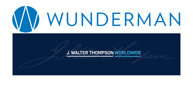 Wunderman logo and J Walter Thompson logo