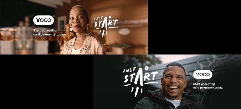 Yoco #JustStart campaign