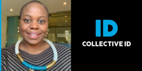Zanele Ntulini and Collective ID logo