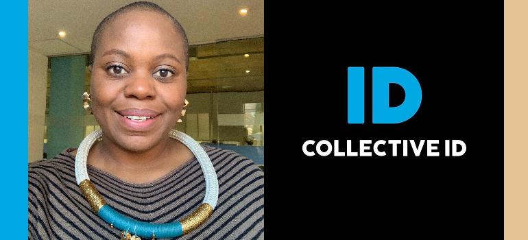 Zanele Ntulini and Collective ID logo