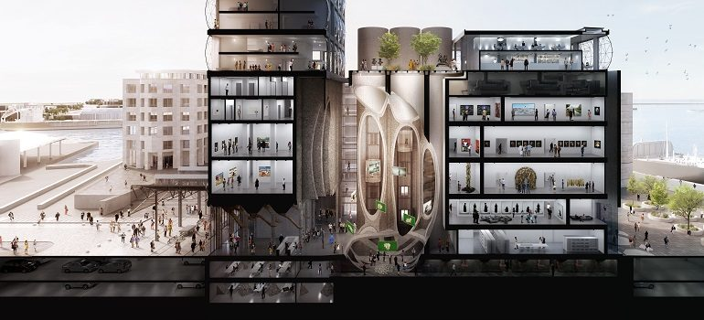 Zeitz MOCAA cross section