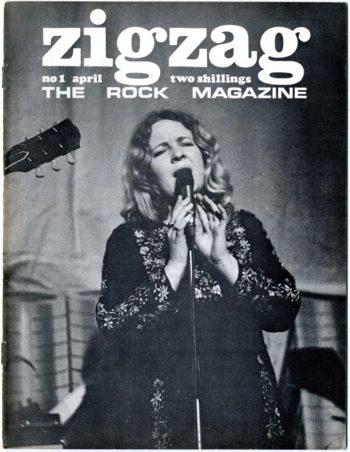 ZigZag The Rock Magazine, 1 April 1969 - Sandy Denny