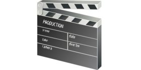 clapper-board-film-movie-152088 courtesy of Pixabay