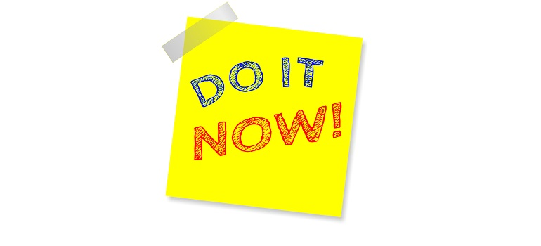 do it now note reminder post note courtesy of Pixabay