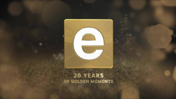 e.tv 20 years of golden memories logo