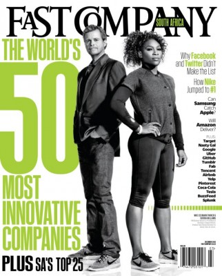 Fast Company South Africa: mock cover