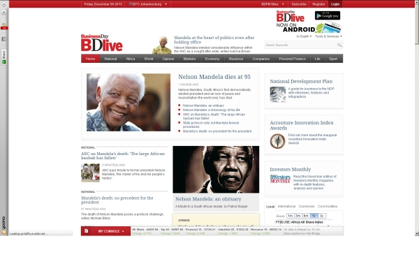 fullscreen Madiba BD Live