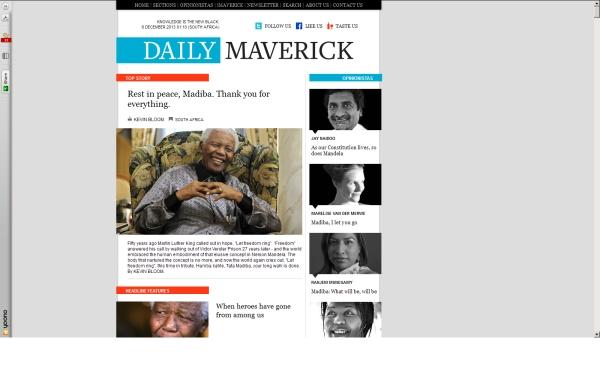 fullscreen Madiba Daily Maverick