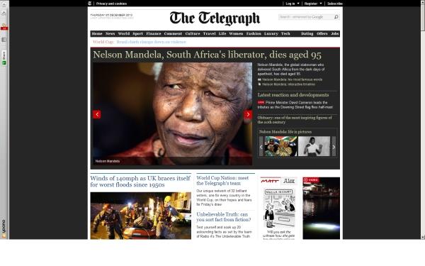 fullscreen Madiba Telegraph 2