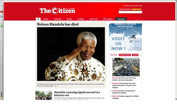 fullscreen Madiba The Citizen 2