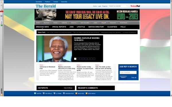 fullscreen Madiba The Herald