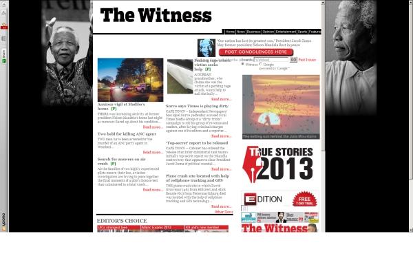 fullscreen Madiba The Witness