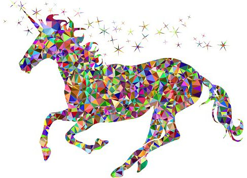 gem unicorn fantasy horse courtesy of pixabay
