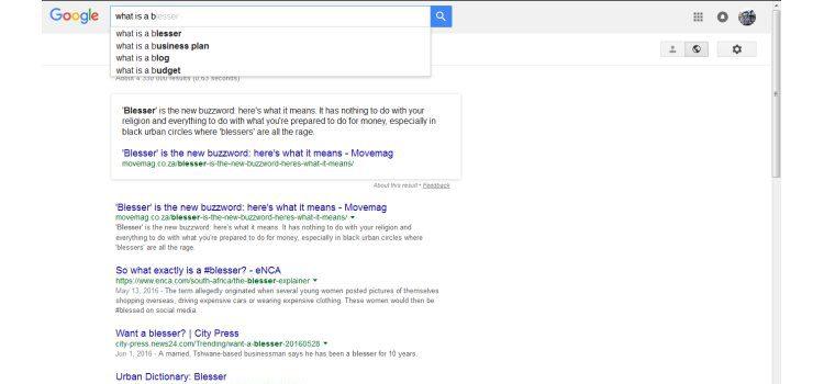 google blesser