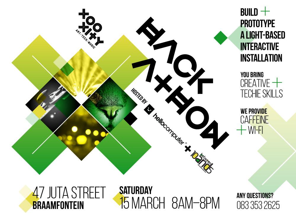 Xooxity Hackathon invitation
