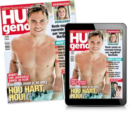 Huisgenoot print and digital covers