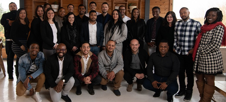 iProspect South Africa team at a recent team build