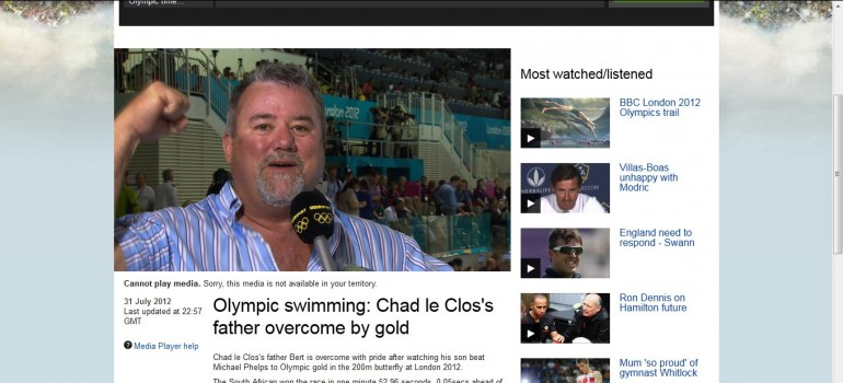 le clos farther bbc interview