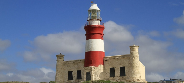 lighthouse-cape-agulas-south-africa by Michele Lianza courtesy of Pixabay