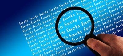 magnifying-glass-facts-examine courtesy of Pixabay