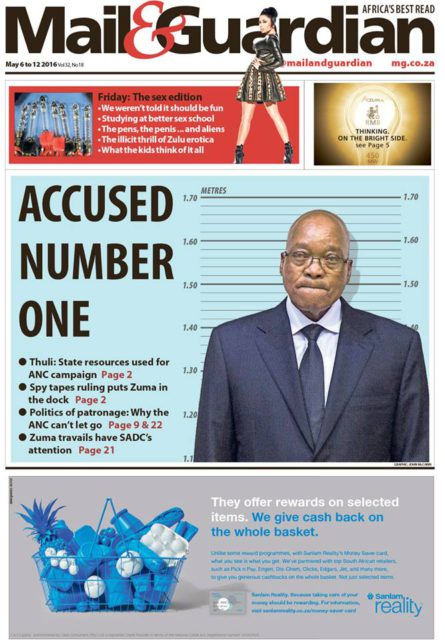 Mail & Guardian 6 May 2016