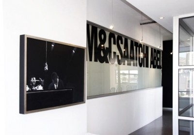 M&C Saatchi Abel office with logo