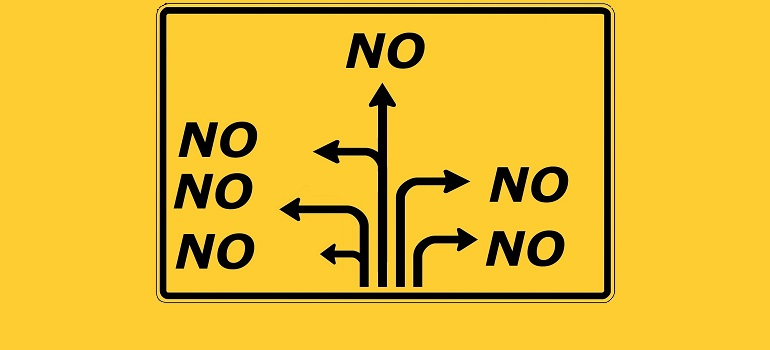 no road sign direction courtesy of Pixabay.com amended for slider